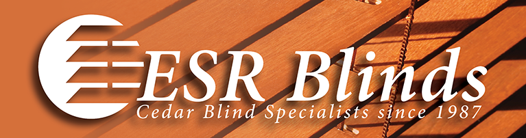 ESR Blinds Cedar Blind Specialists since 1987